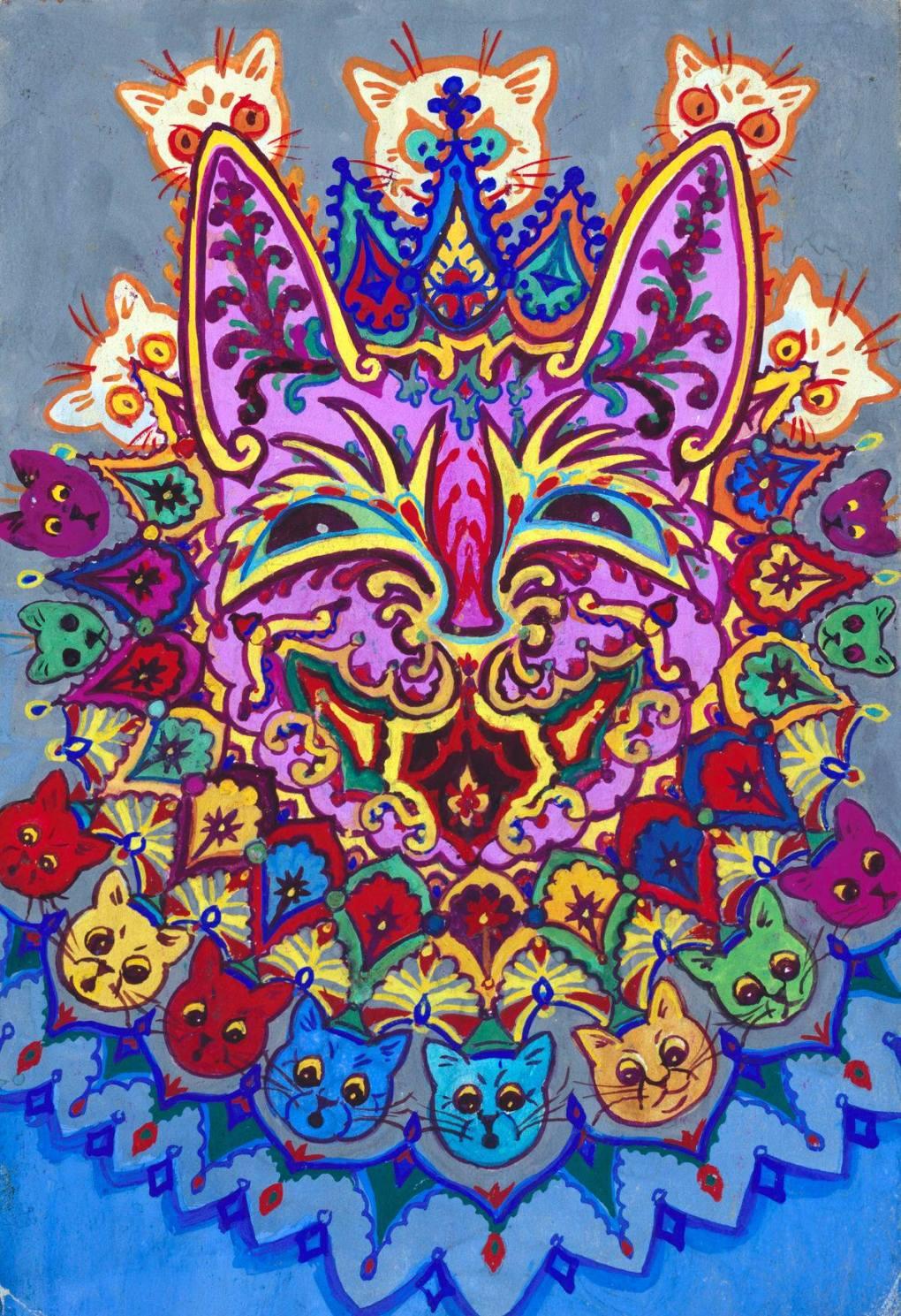 de1086f63ff Friday Art Cat  Louis Wain (1860-1939) - Katzenworld