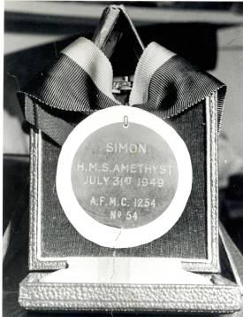 Simon's Dickin Medal