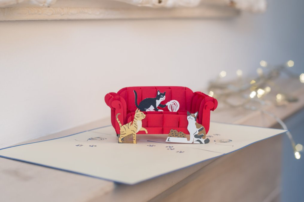 Cats-On-A-Sofa-Pop-Up-Card