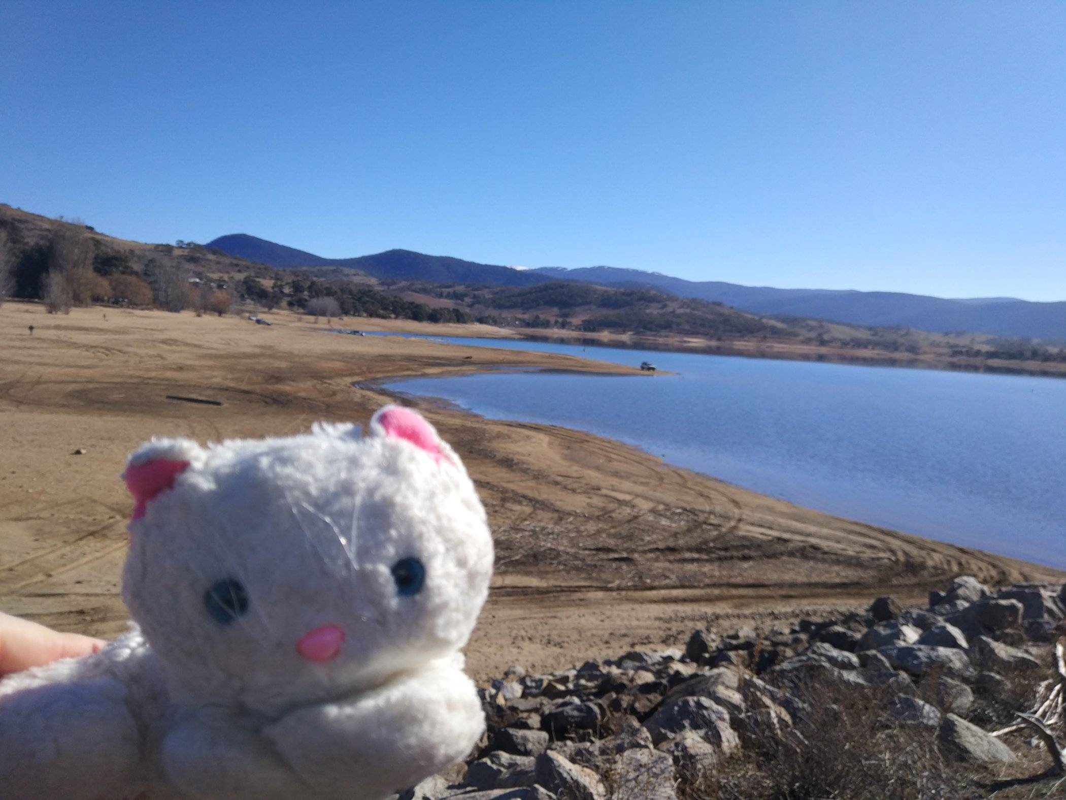 Tabatha at Lake Jindabyne :)
