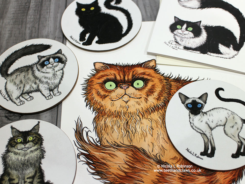 Illustrating Cats. Cats I have known and Cats I would Like to Meet…