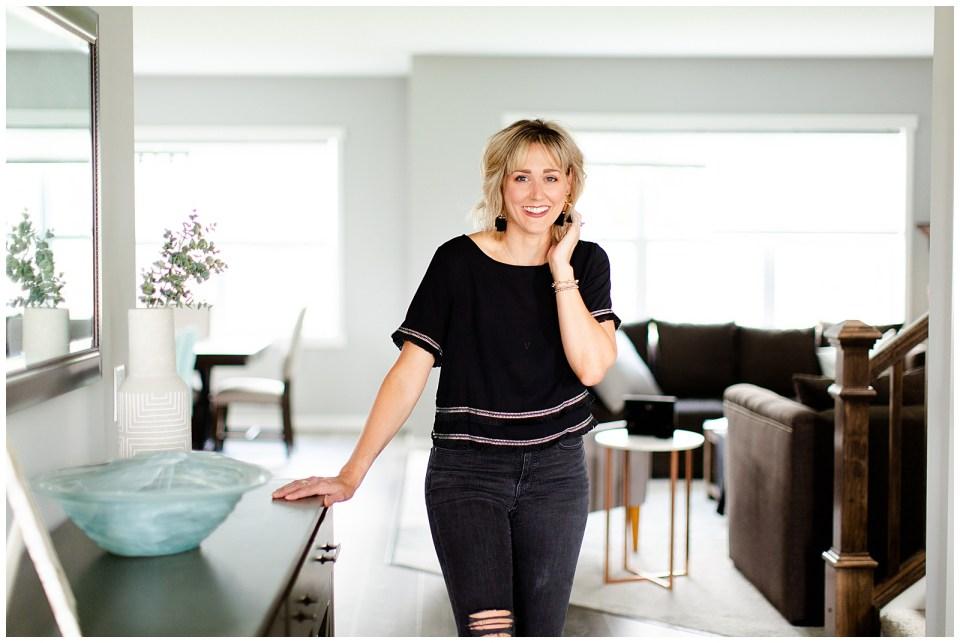 Lifestyle home portrait shoot in Minneapolis, MN