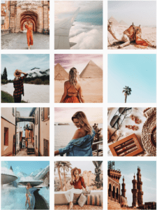 Photo collage of travel photos by Esther Susag