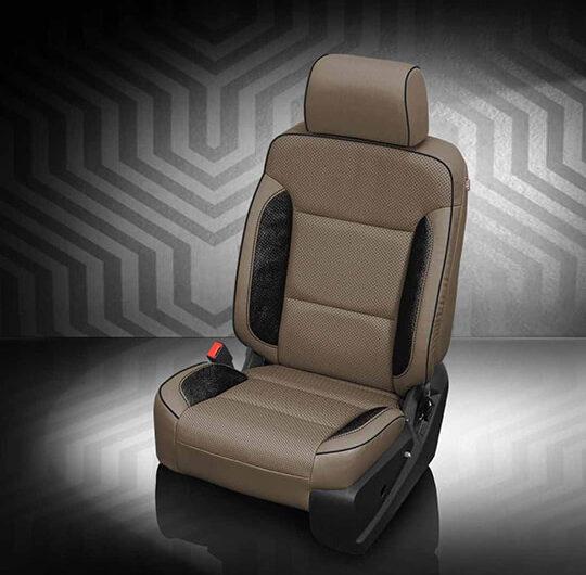 GMC Sierra Leather Seats Interiors Seat Covers Katzkin