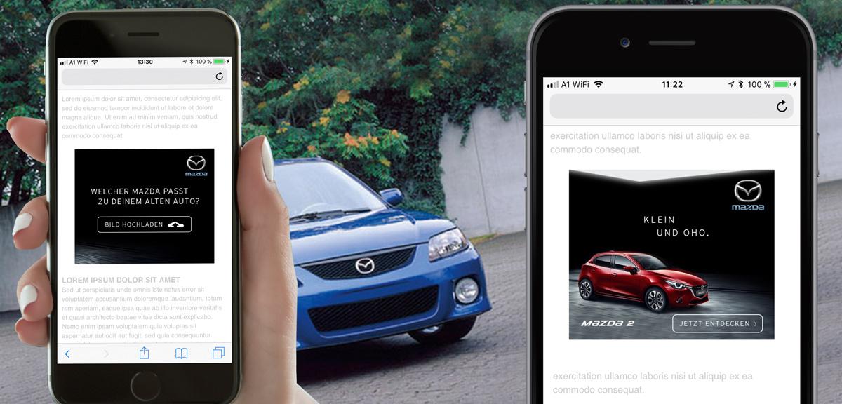 Mazda - KI erkennt Auto