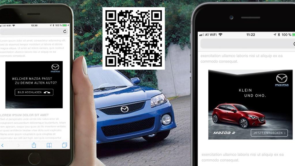 mobiles AI Werbemittel