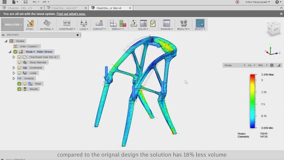 Dreamcatcher Software erschafft Sessel