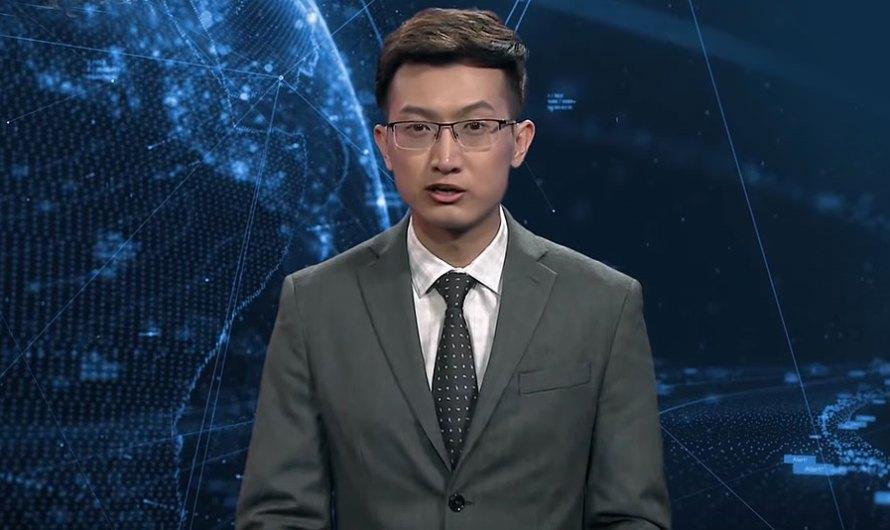 Der erste AI Nachrichtensprecher kommt aus China