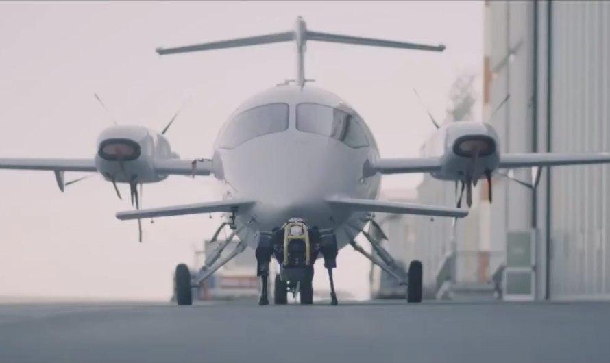 Superstarker Roboterhund HyQReal zieht 3 Tonnen schweres Flugzeug