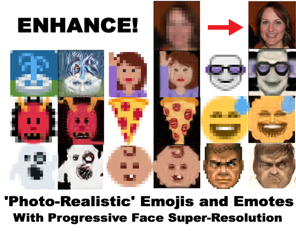 Progressive Face Super-Resolution