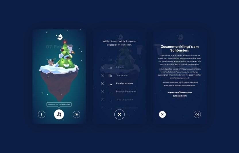 Merry Bitmas - aus Creative Data wird Musik