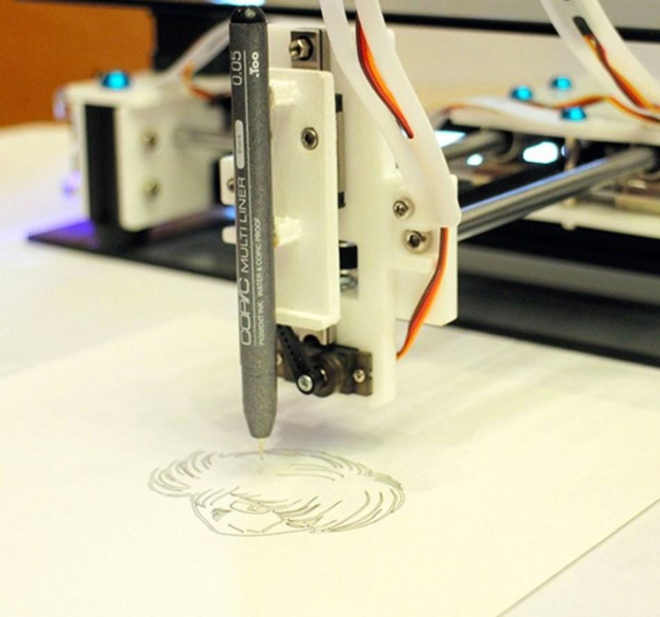 """Ein Roboterarm, der für die Kreation von """"Paidon"""" benutzt wurde (Yusuke Kato)"""