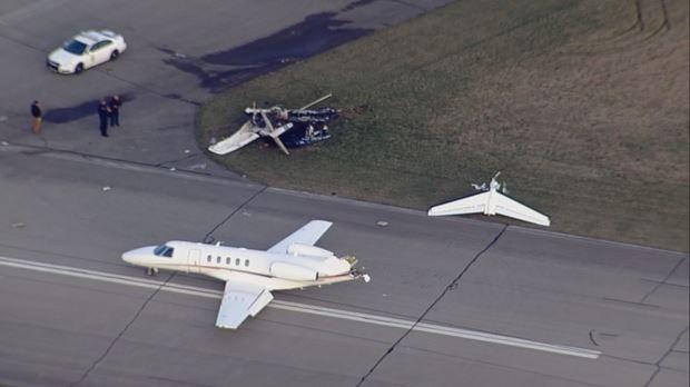 Marion, IN Runway Collision