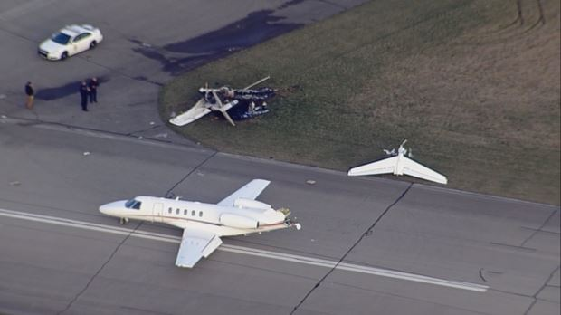 Marion, Indiana Runway Collision – 4/2/2018