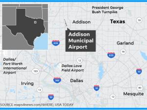 10 Dead in Small Plane Crash at Dallas Area Airport