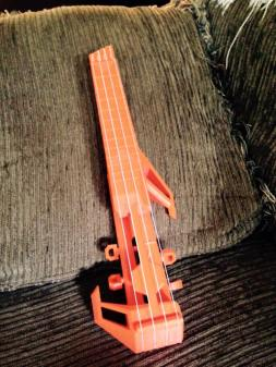 3d printed ukulele