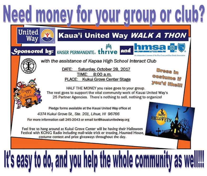 Kauai United Way Walk A Thon