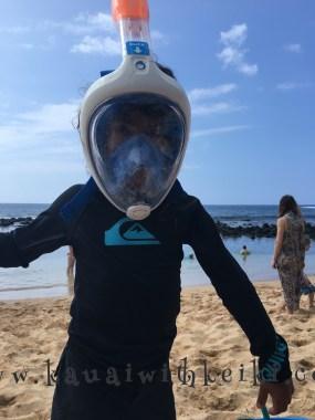 Snorkeling at Baby Beach