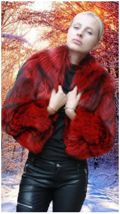 Fox Fur Bolero Sleeves