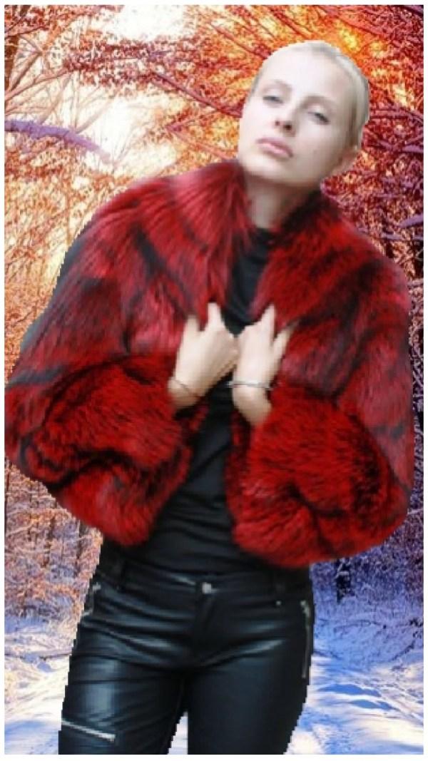 Fox Fur Bolero Sleeves