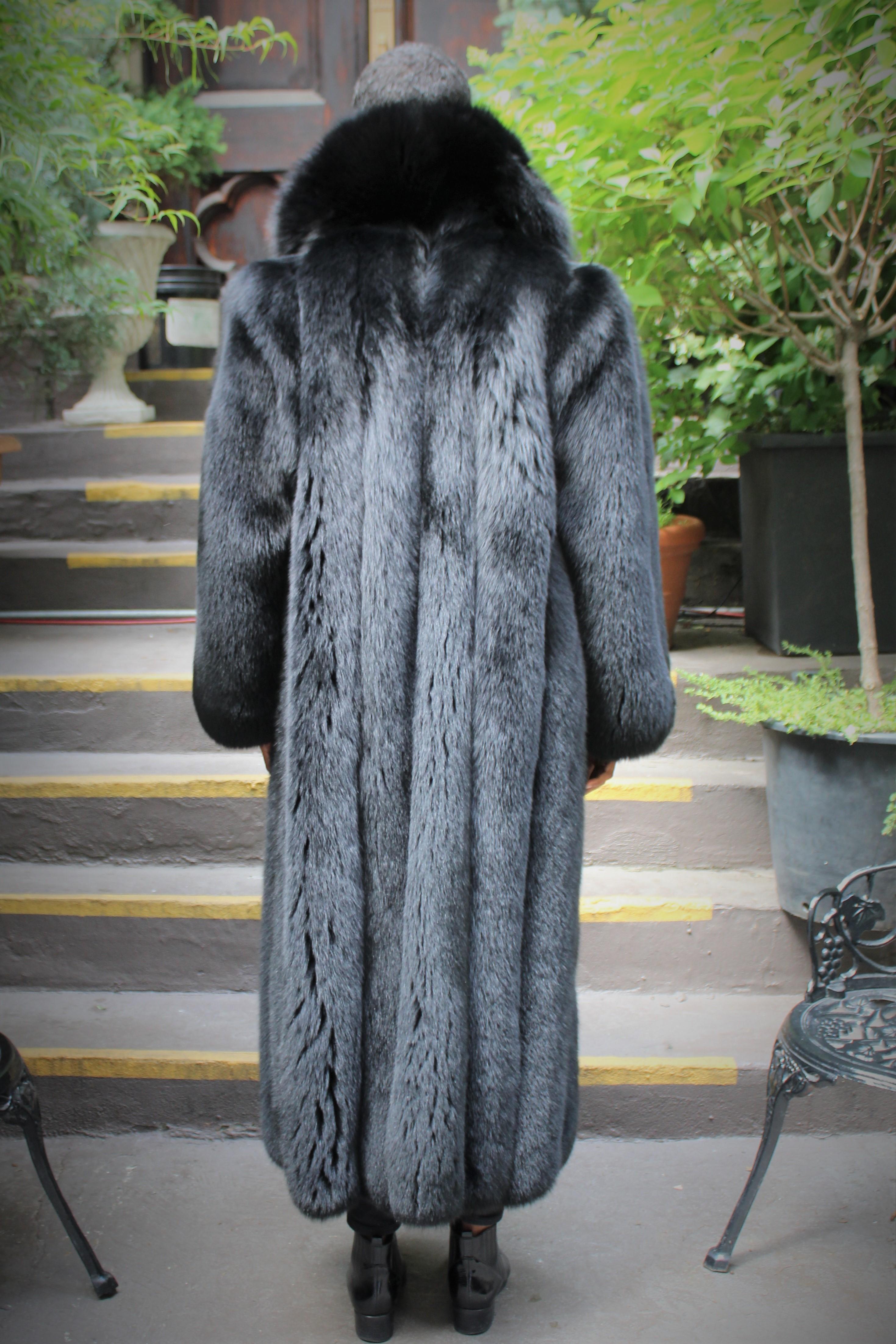 Black Fox Coat