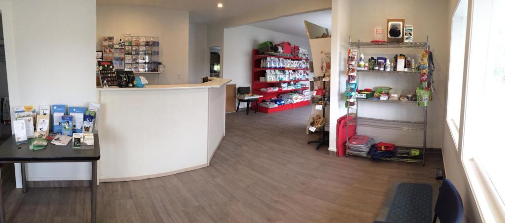 The interior of our new clinic on the corner of Kahikatea Flat Rd and Kaipara Coast Highway (SG16)