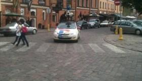 Google Maps automobilis Rotušės aikštėje