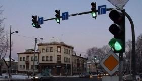 Šviesoforas Parodos gatvėje