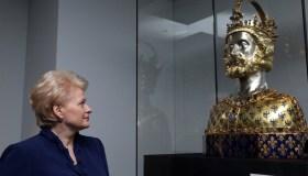 Dalia Grybauskaitei įteiktas tarptautinis Karolio Didžiojo apdovanojimas 05