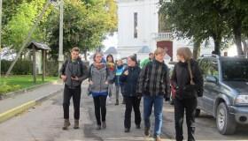"""Kauno savanorių organizacijos """"Baltai Juoda"""" žygis"""