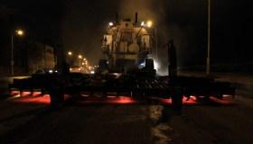 Naktinis asfalto tiesimas