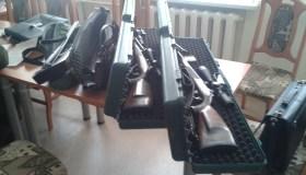 Brakonierių ginklų arsenalas