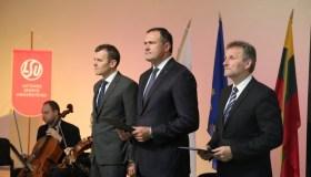 LSU rektoriaus inauguracija 09