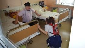 Klounai ligoninėje