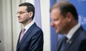S. Skvernelio susitikimas su Lenkijos ministru pirmininku