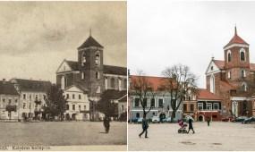 Šv. apaštalų Petro ir Povilo arkikatedra bazilika apie 1914 m.