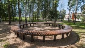 Rekonstruotas Dainavos parkas