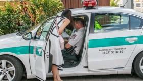 Policija Kaune baudė greičio viršytojus