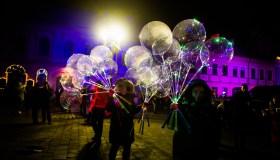 Naujųjų metų sutikimas Kauno Rotušės aikštėje