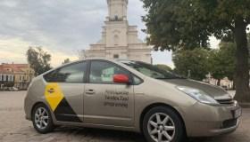 """""""Yandex"""" taksi Kaune"""
