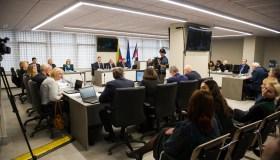 Kauno rajono tarybos posėdis dėl prijungimo prie miesto