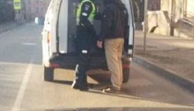 Sandėlių gatvėje sulaikytas vyras