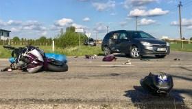 Mitkūnų kaime žuvo motociklininkas