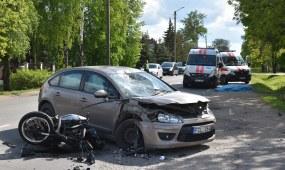 Sargėnuose žuvo motociklo vairuotojas