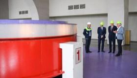 G. Nausėda lankosi Kruonio hidroakumuliacinėje elektrinėje