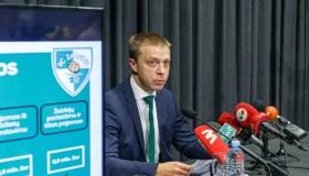 """P. Motiejūnas pristatė """"Žalgirio"""" biudžetą"""