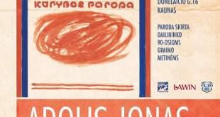 """Adolio Jono Krištopaičio paroda """"Pa(si)matymai"""""""