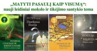 Mokslas ir tikėjimas: santykis, įžvalgos, naujausių leidinių pristatymas
