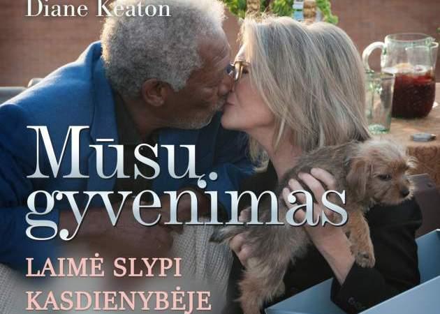 """Legendiniai Morganas Freemanas ir Diana Keaton filme """"Mūsų gyvenimas"""""""