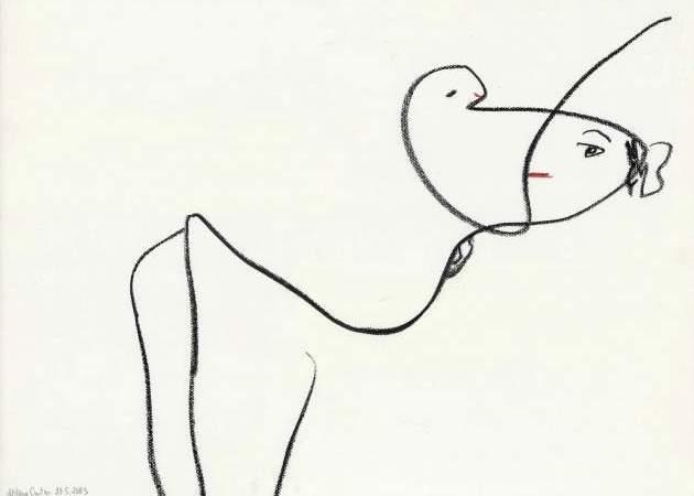"""Aldonos Gustas piešinių paroda """"Esu gamtos dalis…"""""""